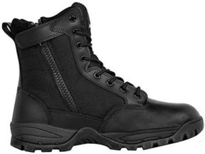 Maelstrom Men's TAC FORCE 8 Inch Waterproof Military Tactical Duty Work Boot with Zipper